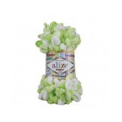 Пряжа Alize Puffy color (100% микрополиэстер) 5х100г/9м цв.5937
