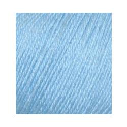 Пряжа Alize Baby Wool (20% бамбук, 40% шерсть, 40% акрил) 10х50г/175м цв.350 св.голубой