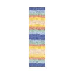 Пряжа Alize Baby Wool Batik (20% бамбук, 40% шерсть, 40% акрил) 10х50г/175м цв.6539