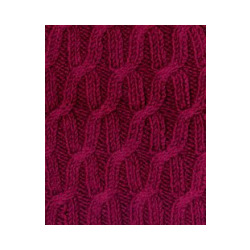 Пряжа Alize Cashmira (100% шерсть) 5х100г/300м цв.057 бордовый