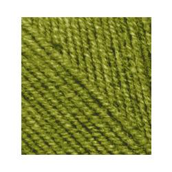 Пряжа Alize Cashmira (100% шерсть) 5х100г/300м цв.233 зеленая черепаха