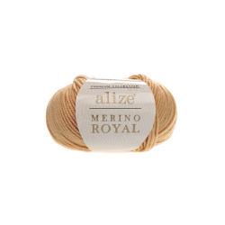 Пряжа Alize Merino Royal (100% шерсть) 10х50г/100м цв.097 каштановый