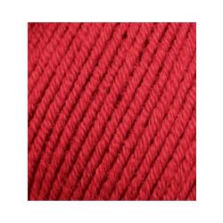 Пряжа Alize Merino Royal (100% шерсть) 10х50г/100м цв.056 красный