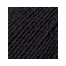 Пряжа Alize Merino Royal (100% шерсть) 10х50г/100м цв.060 черный