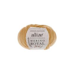 Пряжа Alize Merino Royal Fine (100% шерсть) 10х50г/175м цв.097 каштановый