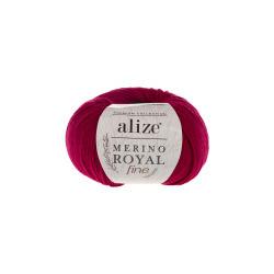 Пряжа Alize Merino Royal Fine (100% шерсть) 10х50г/175м цв.390 вишня