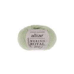 Пряжа Alize Merino Royal Fine (100% шерсть) 10х50г/175м цв.522 мята