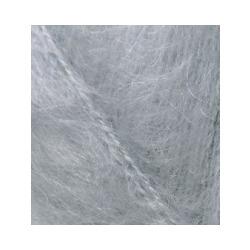 Пряжа Alize Mohair classic (25% мохер, 24% шерсть, 51% акрил) 5х100г/200м цв.021 серый
