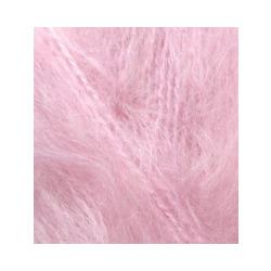 Пряжа Alize Mohair classic (25% мохер, 24% шерсть, 51% акрил) 5х100г/200м цв.032 св.розовый