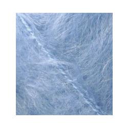 Пряжа Alize Mohair classic (25% мохер, 24% шерсть, 51% акрил) 5х100г/200м цв.040 голубой