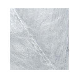 Пряжа Alize Mohair classic (25% мохер, 24% шерсть, 51% акрил) 5х100г/200м цв.052 св.серый