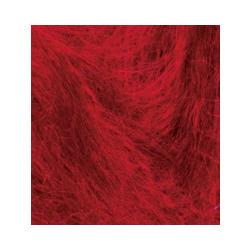Пряжа Alize Mohair classic (25% мохер, 24% шерсть, 51% акрил) 5х100г/200м цв.056 красный