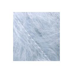 Пряжа Alize Mohair classic (25% мохер, 24% шерсть, 51% акрил) 5х100г/200м цв.051 св.голубой