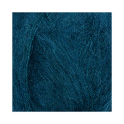 Пряжа Alize Mohair classic (25% мохер, 24% шерсть, 51% акрил) 5х100г/200м цв.646 т.бирюзовый