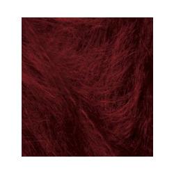 Пряжа Alize Mohair classic (25% мохер, 24% шерсть, 51% акрил) 5х100г/200м цв.057 бордовый