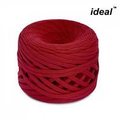 Пряжа Ideal трикотажная 100м, 350-380 г, ширина 7-9мм цв. бордо