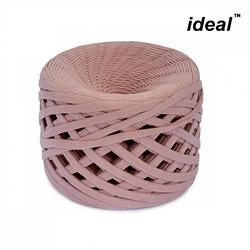 Пряжа Ideal трикотажная 100м, 350-380 г, ширина 7-9мм цв. пыльная роза