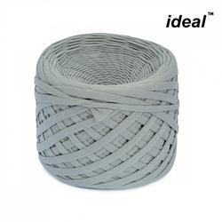 Пряжа Ideal трикотажная 100м, 350-380 г, ширина 7-9мм цв. сталь