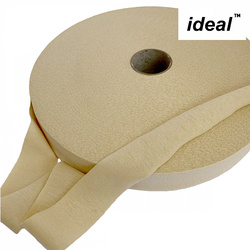 Пряжа Ideal трикотажная лицевая 100м, 350-380 г, ширина 7-9мм цв. бежевый