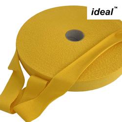 Пряжа Ideal трикотажная лицевая 100м, 350-380 г, ширина 7-9мм цв. мед