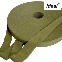 Пряжа Ideal трикотажная лицевая 100м, 350-380 г, ширина 7-9мм цв. свежее сено