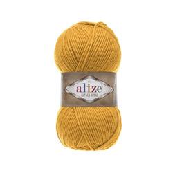 Пряжа Alize Alpaca Royal (30% альпака, 15% шерсть, 55% акрил) 5х100г/280м цв.002 шафран