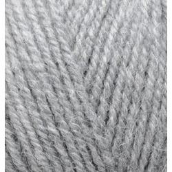 Пряжа Alize Alpaca Royal (30% альпака, 15% шерсть, 55% акрил) 5х100г/280м цв.021 св.серый меланж