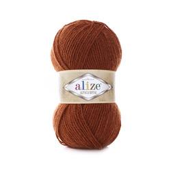 Пряжа Alize Alpaca Royal (30% альпака, 15% шерсть, 55% акрил) 5х100г/280м цв.036 терракот