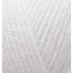 Пряжа Alize Alpaca Royal (30% альпака, 15% шерсть, 55% акрил) 5х100г/280м цв.055 белый