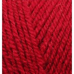 Пряжа Alize Alpaca Royal (30% альпака, 15% шерсть, 55% акрил) 5х100г/280м цв.056 красный