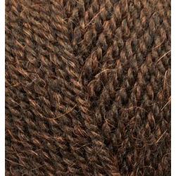 Пряжа Alize Alpaca Royal (30% альпака, 15% шерсть, 55% акрил) 5х100г/280м цв.201 коричневый