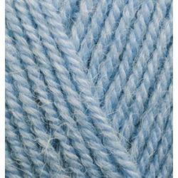 Пряжа Alize Alpaca Royal (30% альпака, 15% шерсть, 55% акрил) 5х100г/280м цв.356 голубой