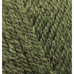 Пряжа Alize Alpaca Royal (30% альпака, 15% шерсть, 55% акрил) 5х100г/280м цв.567 зеленый меланж