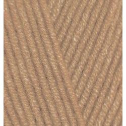 Пряжа Alize Angora Gold (20% шерсть, 80% акрил) 5х100г/550м цв.127 карамель