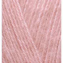 Пряжа Alize Angora Gold (20% шерсть, 80% акрил) 5х100г/550м цв.144 темная пудра
