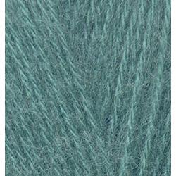 Пряжа Alize Angora Gold (20% шерсть, 80% акрил) 5х100г/550м цв.164 лазурный