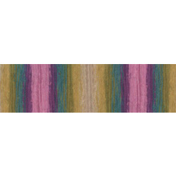 Пряжа Alize Angora Gold Batik (20% шерсть, 80% акрил) 5х100г/550м цв.4341