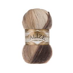 Пряжа Alize Angora Gold Batik (20% шерсть, 80% акрил) 5х100г/550м цв.6779
