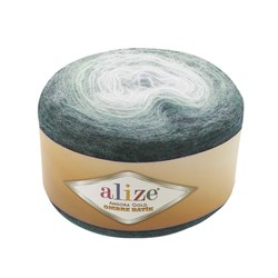 Пряжа Alize Angora Gold Ombre Batik (20% шерсть, 80% акрил) 4х150г/825м цв.7230