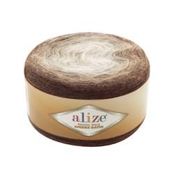 Пряжа Alize Angora Gold Ombre Batik (20% шерсть, 80% акрил) 4х150г/825м цв.7243