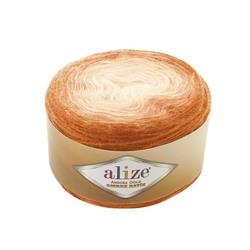 Пряжа Alize Angora Gold Ombre Batik (20% шерсть, 80% акрил) 4х150г/825м цв.7296
