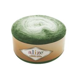 Пряжа Alize Angora Gold Ombre Batik (20% шерсть, 80% акрил) 4х150г/825м цв.7297