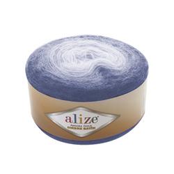 Пряжа Alize Angora Gold Ombre Batik (20% шерсть, 80% акрил) 4х150г/825м цв.7303