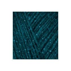 Пряжа Alize Angora Gold Simli (5% металлик, 20% шерсть, 75% акрил) 5х100г/500м цв.017 петроль