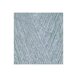 Пряжа Alize Angora Gold Simli (5% металлик, 20% шерсть, 75% акрил) 5х100г/500м цв.021 серый