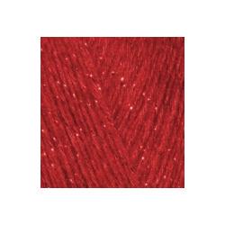 Пряжа Alize Angora Gold Simli (5% металлик, 20% шерсть, 75% акрил) 5х100г/500м цв.106 красный