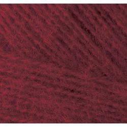 Пряжа Alize Angora Real 40 (40% шерсть, 60% акрил) 5х100г/480м цв.057 бордовый