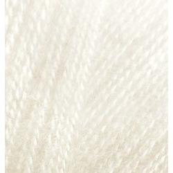 Пряжа Alize Angora Real 40 (40% шерсть, 60% акрил) 5х100г/480м цв.067 молочно-бежевый