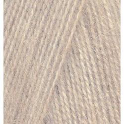 Пряжа Alize Angora Real 40 (40% шерсть, 60% акрил) 5х100г/480м цв.152 беж меланж