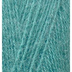 Пряжа Alize Angora Real 40 (40% шерсть, 60% акрил) 5х100г/480м цв.164 лазурный